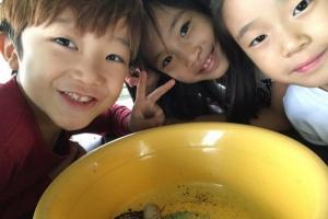 [新전원일기] 개구리가 펄쩍, 동심이 팔딱… 곤충과 오감을 나누다