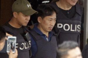 [포토] 석방된 '김정남 살해' 용의자 北 리정철