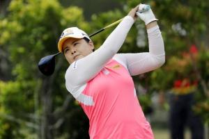 [포토] 박인비, HSBC 챔피언스 2R 단독 선두 '힘찬 스윙'