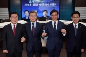 사드·대연정·준조세 폐지… 文·安·李 물고 물리는 공방