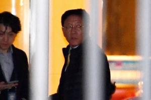 강철 북한 대사, 기자회견 없이 대사관 이동…베이징 도착