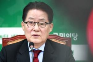 """박지원→김무성 """"같이 한단 소리 좀 그만""""…연대설 일축"""