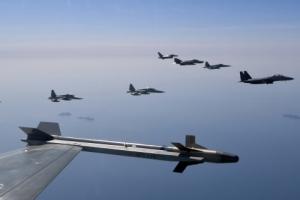[포토] 공군, 북한 도발 원점 타격 '소링 이글' 훈련