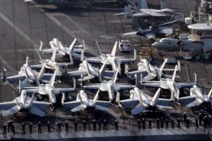 """미군 핵항모 칼빈슨호 한반도 재출동…""""北 핵실험 등 도발 대비""""(종합)"""