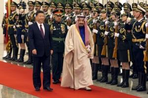 시진핑 만난 사우디 국왕… 650억 달러 MOU 체결