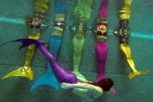 [포토] '인어 수영법, 배워보실래요?'