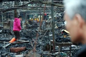 소래포구 화재, 좌판 상인들은 '무등록'…보험 미가입으로 '보상 어려워'