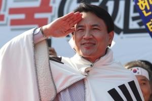 """자유한국당 김진태 """"야구는 9회말 투아웃부터…살아서 돌아오겠다"""""""