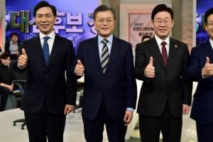 황교안 대선 불출마 선언 뒤…안희정·안철수·홍준표 지지율 상승세