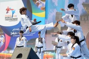 100일 남은 세계 태권도인 축제