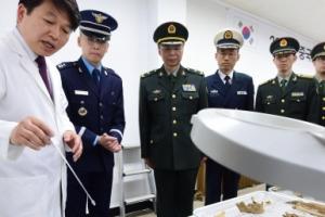 軍, 사드 갈등에도 중국군 유해 송환