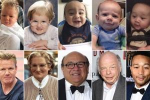 싱크로율 100%…유명인 닮은 아기들 사진 화제