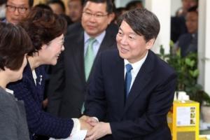 """""""승부처 호남을 잡아라""""… 安·孫 나란히 출격"""