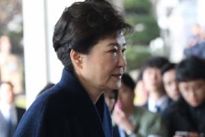 [속보] 박근혜 전 대통령 11시 40분 검찰 조사 종료