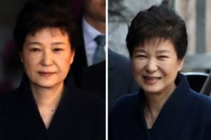 박前대통령, 검찰선 무표정·집에선 미소…21시간51분만에 귀가