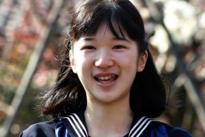 [포토] 졸업식 참석한 아이코 일본 공주