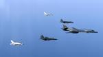 美전략폭격기 B-1B 2대, 한…