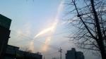 원주 하늘에 세월호 리본 …