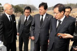 """홍준표 """"세월호·박 전 대통령 구속으로 정치적 이용하지 말라"""""""