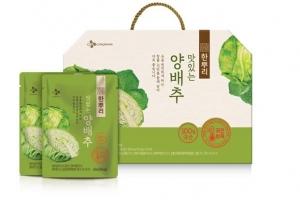 [봄철 식음료 특집] CJ제일제당 한뿌리 양배추즙, 제주 양배추 비타민U 그대로… 소화…