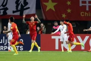 한국, 중국에 충격패…2018 러시아 월드컵 최종예선 '빨간불'