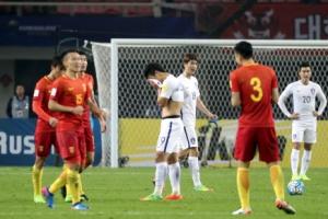 한국 축구, 중국에 0-1 충격패…골 결정력 부족+수비 불안 노출
