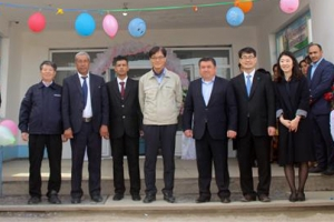 현대엔지니어링 '새희망학교' 우즈베키스탄에 5번째 기증