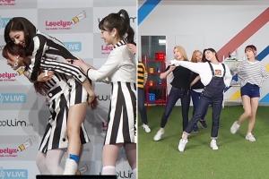 정예인 발목 부상 회복…러블리즈, 8인 완전체 '와우!' 안무연습 영상