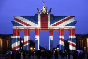 [포토]런던 테러 희생자 애도하는 獨 브란덴부르크문