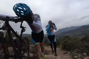 산악자전거 타다 날벼락, 무슨 일이?