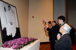 안중근 의사 순국 107주기 추모식