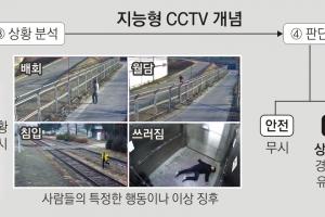 인공지능 CCTV 스스로 '경보'