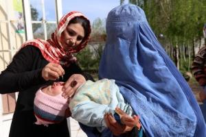 [포토]소아마비와도 전쟁 중인 아프가니스탄