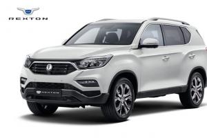 웅장한 풍채 넉넉한 실내… 쌍용차 SUV 'G4 렉스턴'