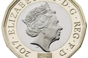 英 1파운드 12각형 모양 새 동전 도입