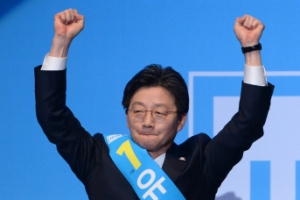 [서울포토]바른정당 후보로 대선 나가는 유승민