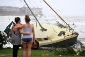 [포토]호주 강타한 초강력 태풍 데비