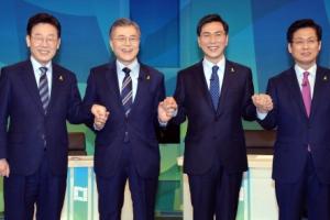 [서울포토]더불어민주당 SBS 합동토론회