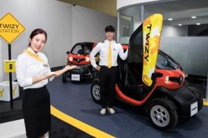 르노삼성 초소형 전기차 '트위지'