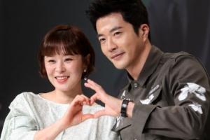 [포토] 최강희-권상우 '추리의 여왕에서 만났어요'