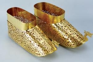 1500년 만에 환생한 백제 금동신발