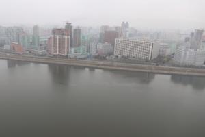 [서울포토] '북한은 지금 안갯속'