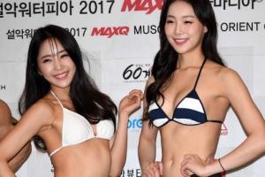 공민서-손소희, 우열을 가릴 수 없는 '두 머슬퀸의 핫바디'