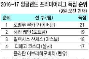 손흥민, EPL '득점 톱10' 눈앞