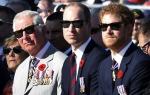 한자리에 모인 영국 왕가…