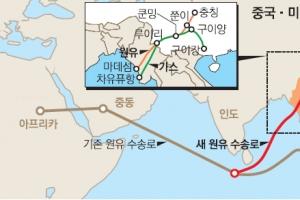 美 눈치에…  中~미얀마 송유관 2년 만에 가동