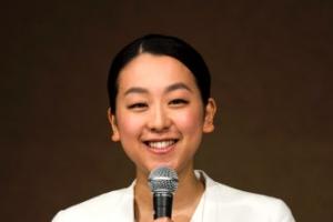 [포토] 아사다 마오, 은퇴 기자회견 '웃는 모습으로 안녕'