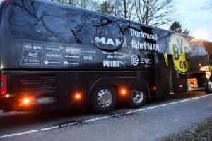 獨도르트문트 버스서 폭발… 선수 1명 부상