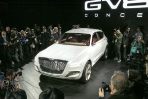 제네시스 첫 고급 SUV 'GV80 콘셉트' 뉴욕에 떴다