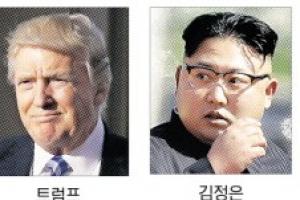 """美 핵항모 한반도 근접… 北 """"전쟁 불사"""" 강대강 대치"""